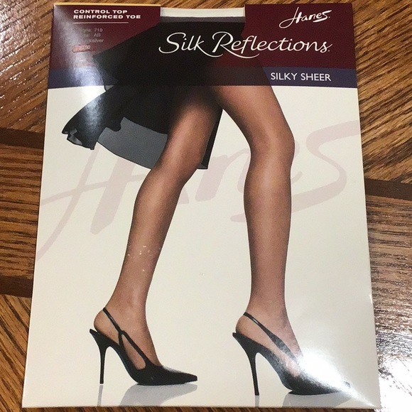 9d41bb66f26a9 Hanes Intimates & Sleepwear | Silk Reflections Silky Sheer Panty ...
